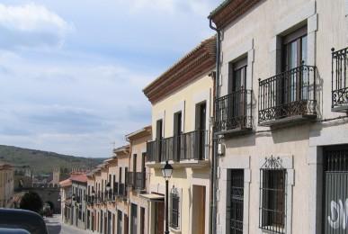 Viviendas Unifamiliares Adosadas. Calle José Tomé en Ávila